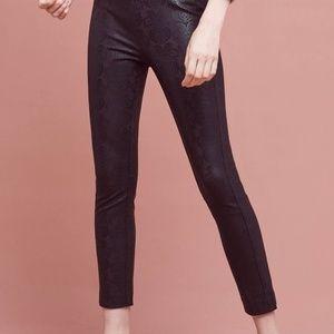 ANTHROPOLOGIE Essential Foil Print Skinny Pant 14
